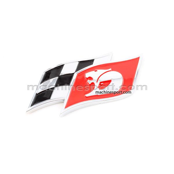 آرم پرچم شطرنجی مسابقات رالی