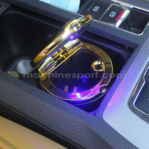 زیر سیگاری لیوانی خودرو CAR ASHIRAY طلایی