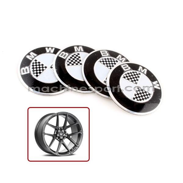 آرم کاپ رینگ بی ام و BMW سیاه و سفید