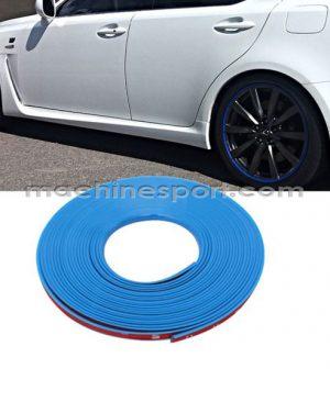 نوار دور رینگ آبی مناسب رینگ خودرو و موتورسیکلت