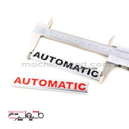 آرم نوشته اتوماتیک automatic