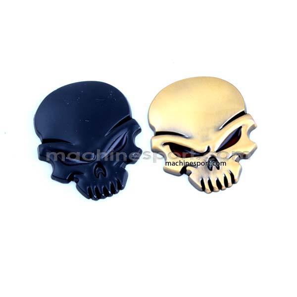 آرم جمجمه logo skull