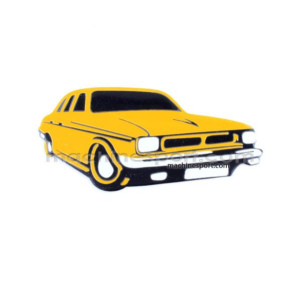 استیکر ماشین پیکان زرد