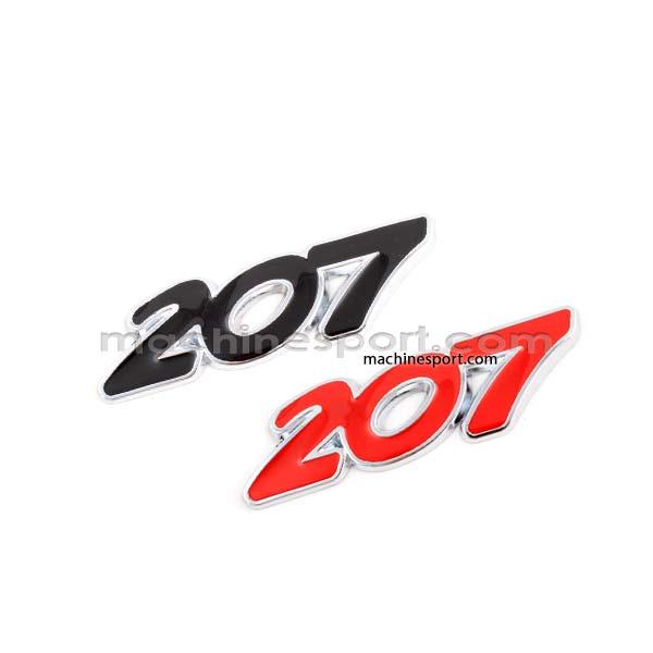 لوگو پژو 207 Peugeot قرمز