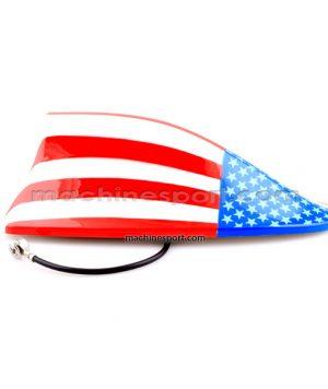 آنتن بال کوسه ای با دریافت امواج AM و FM پرچم آمریکا