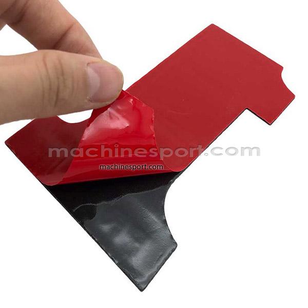 برچسب سه بعدی آلومینیومی پرچمی