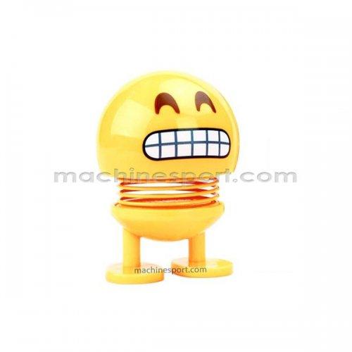 عروسک ایموجی صورت خندان با چشمان خندان