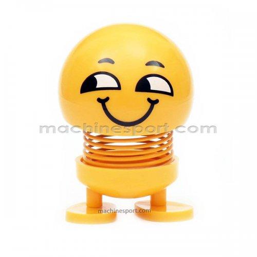 عروسک رو داشبوردی فنری ایموجی لبخند