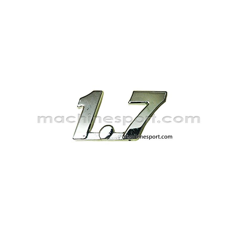آرم نوشته 1.7 مناسب روی گلگیر