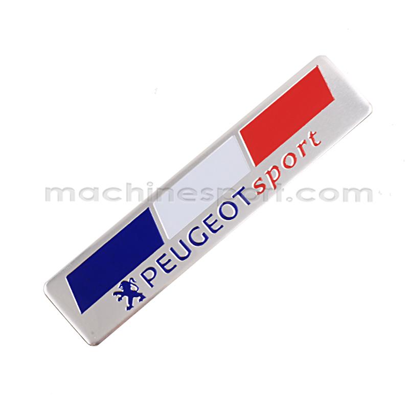 آرم پرچم فرانسه با نوشته پژو اسپرت