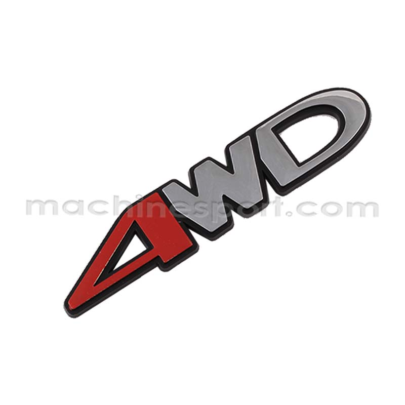 آرم نوشته 4WD