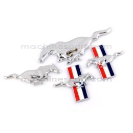 ست کامل آرم اسب فورد موستانگ پرچم دار