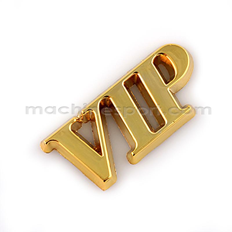آرم نوشته VIP طلایی