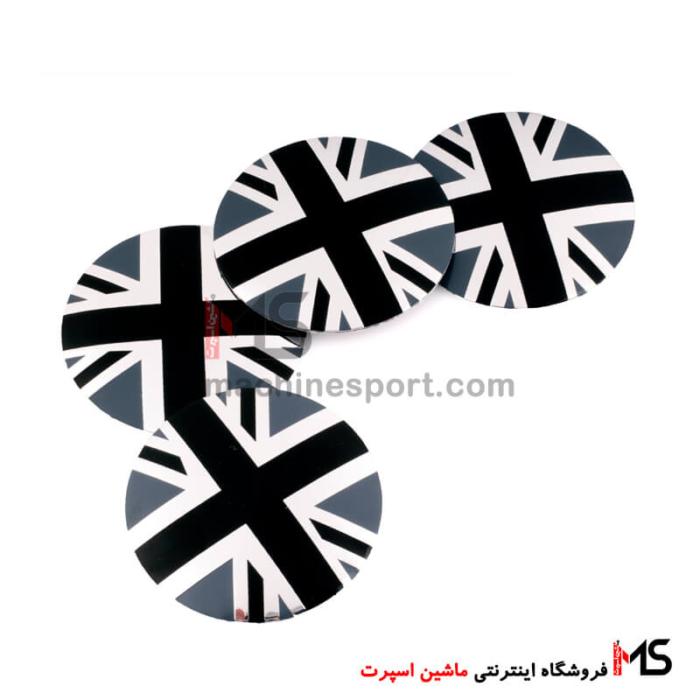 آرم کاپ رینگ پرچم انگلستان مشکی