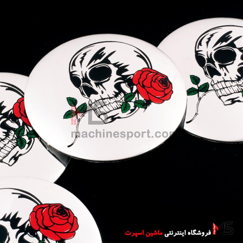 خرید کاپ رینگ طرح جمجمه و رز Skull & Rose